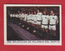 Northern Ireland Team 206 82WC